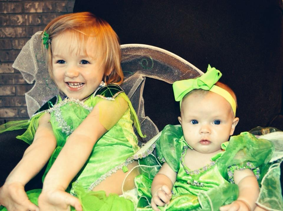 Dress up time, fairies - July 3, 2014