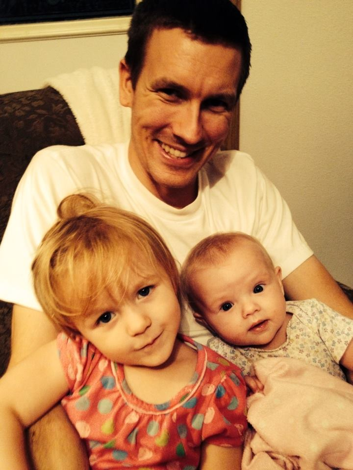 Daddy and Girls, Aug 19, 2014