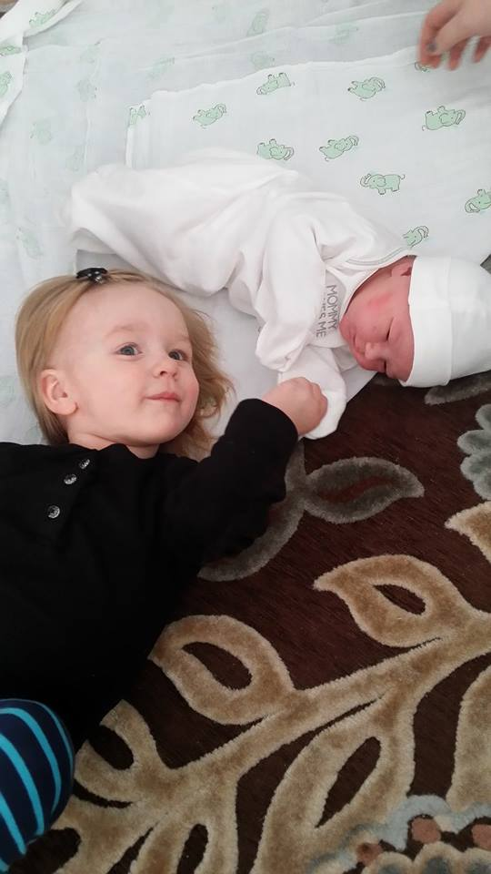 Emma and Lily, Day 1