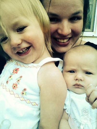 Lacie, Emma and Lily - May 30, 2014