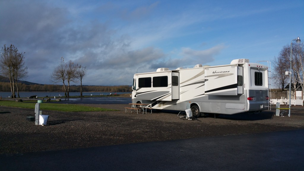 Site #51 at Columbia Riverfront RV Park!