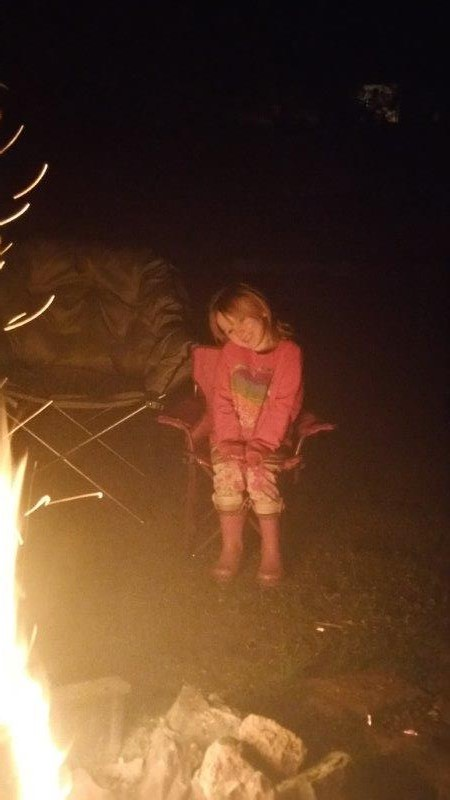 We had a campfire that night and the kids loved it!